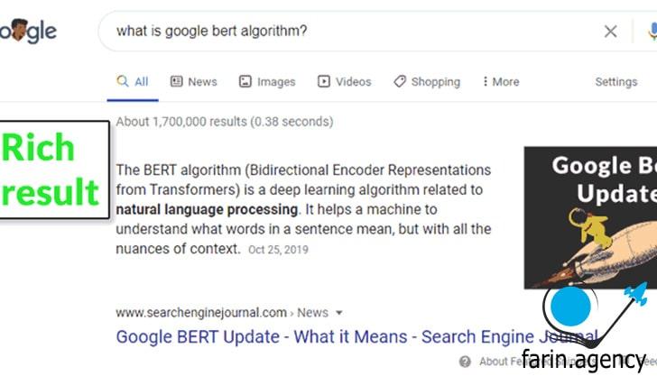 ارتباط Google با Structured Data
