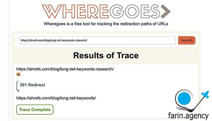 ابزارهای بررسی سئوWhere Goes